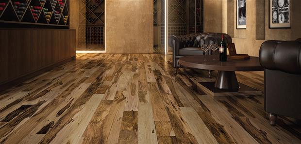 Smooth Flooring - Engineered Brazilian Pecan  1/2 X 5