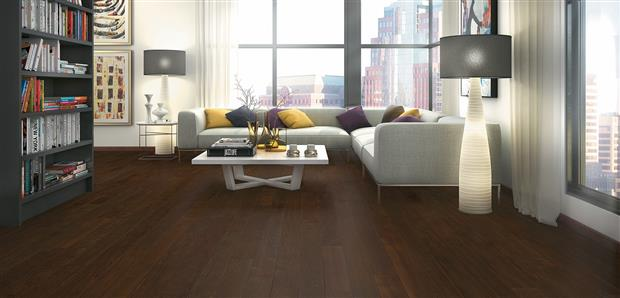 Smooth Flooring - Engineered Brazilian Walnut  1/2 X 5