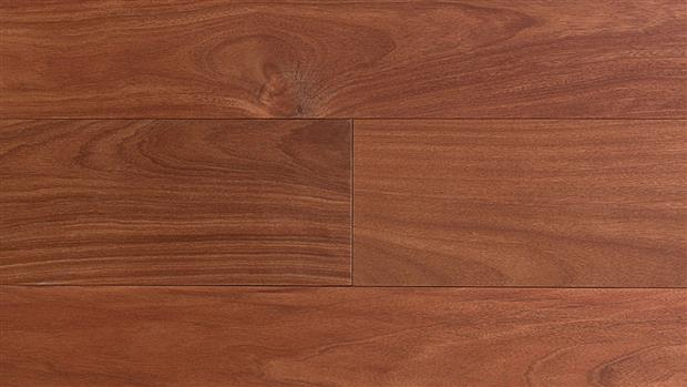 Smooth Flooring - Engineered Santos Mahogany  1/2 X 5