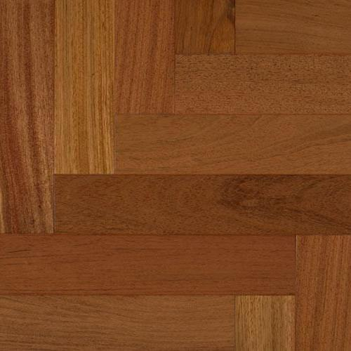 Smooth Exotics - Solid Brazilian Cherry Herringbone 3 1/8