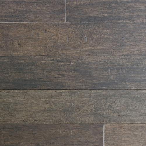 "Textured Flooring  Engineered in Langania Hickory Affumicato 1/2"" X 7 1/2"" - Hardwood by Indus Parquet"