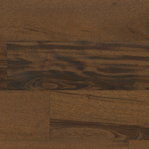 Textured Flooring - Engineered Tigerwood Chocolate 1/2 X 5