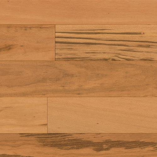 "Textured Flooring  Engineered in Tigerwood Natural 5/8"" X 7 3/4"" - Hardwood by Indus Parquet"