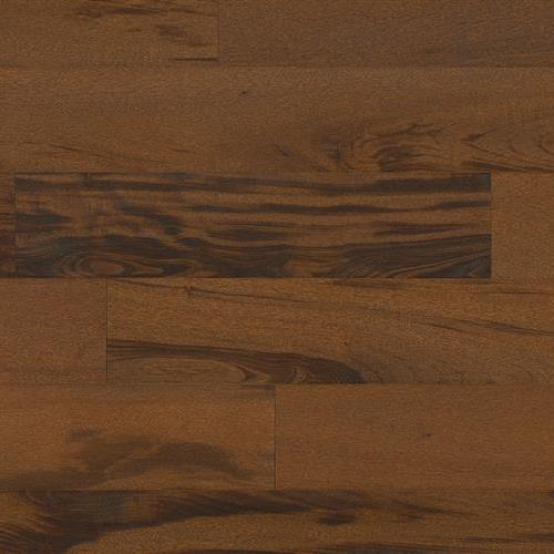 Textured Flooring - Engineered Tigerwood Chocolate 5/8 X 7 3/4