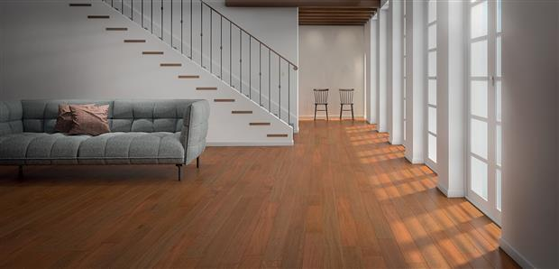 Smooth Flooring - Solid Brazilian Cherry  3/4 X 5