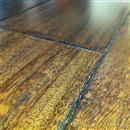 """Hardwood Textured Exotics Tigerwood Ebony Black 5""""  thumbnail #1"""