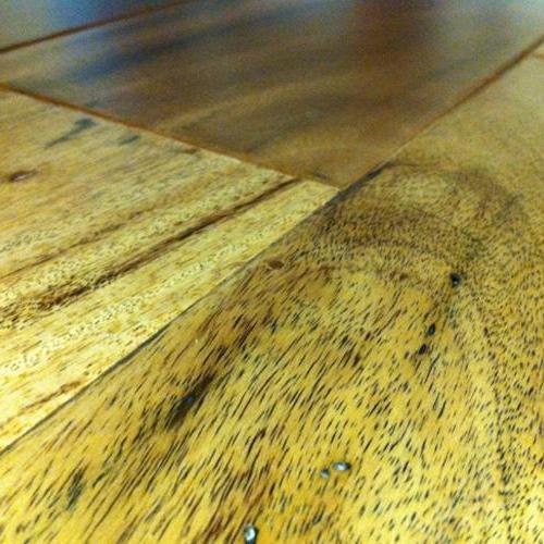 "Hardwood Textured Exotics Amendoim No French Bleed 5""  main image"