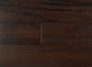 """Hardwood Textured Exotics Tigerwood Ebony Black 5""""  thumbnail #2"""