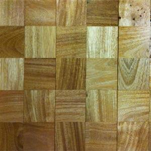 Hardwood Mosaics IPCMSQAME34 BrazilianAmendoimSquares534