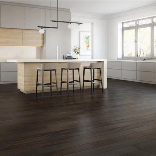 Smooth Flooring - Solid Tigerwood Midnight  3/4 X 5 1/2