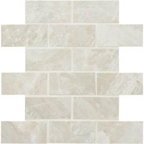 Mirasol Silver Marble 2 X 4 Mosaic ML72