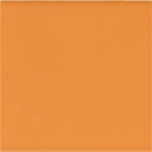 CeramicPorcelainTile Bright Mandarin Orange (4) Q077 main image
