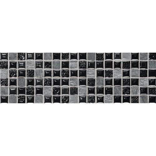 Designer Elegance™ in Iron 4 X 12 Elements Accent (5/8 X 5/8) - Tile by American Olean
