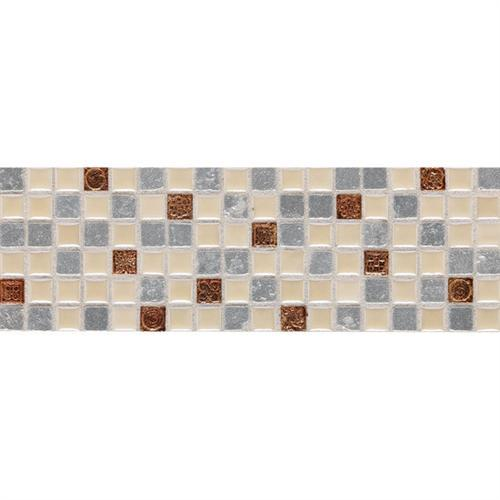Designer Elegance™ in Silicon 4 X 12 Elements Accent (5/8 X 5/8) - Tile by American Olean
