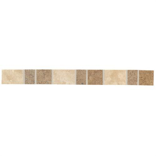 Designer Elegance™ in Mosaic Stone Travertine/noce 1and X 12and Accent - Tile by American Olean