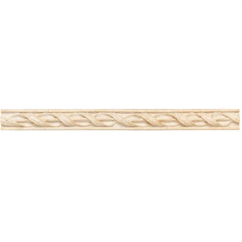 Designer Elegance™ in Botticino 1and X 12and Spiral Swag Accent - Tile by American Olean