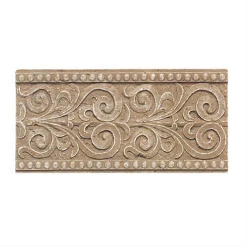 Designer Elegance™ in Mocha 4and X 8and Persian Accent - Tile by American Olean