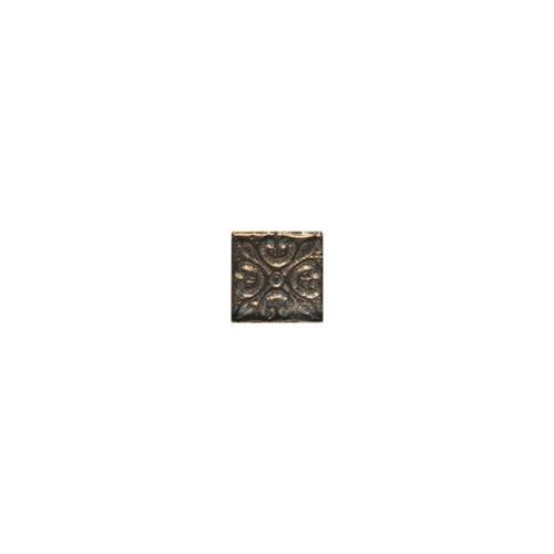 Designer Elegance Bronze 2 X 2 Emblems Dot 2 DE92