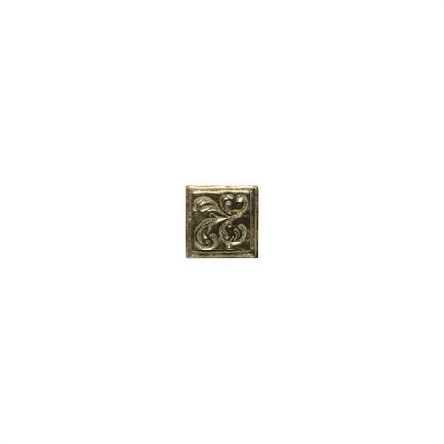 Designer Elegance Pewter 2 X 2 Emblems Dot 2 DE93