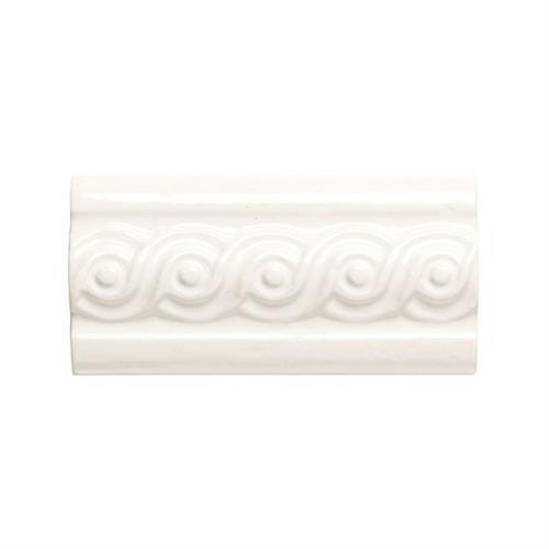 Designer Elegance™ in Ice White 3and X 6and Swirl Accent - Tile by American Olean
