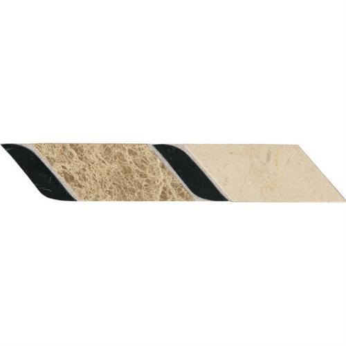 Designer Elegance™ in Beige 2 X 12 Structure Accent - Tile by American Olean
