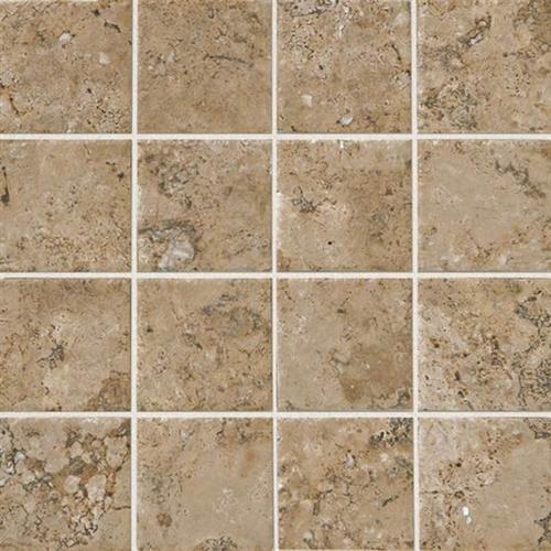 Marron 3 X 3 Mosaic