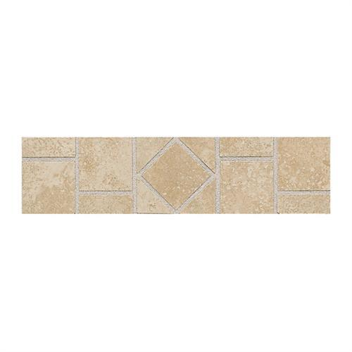 Ash Creek Almond Floor Border 3And X 12And AS01