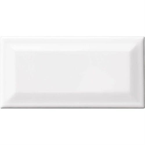Matte Matte Designer White 3 X 6  Bevel 0061