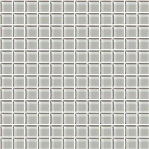 GlassTile ColorAppeal C10211MS1P SilverCloud1x1Mosaic