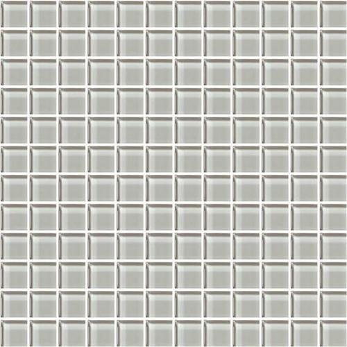 Color Appeal Silver Cloud 1X1 Mosaic C102