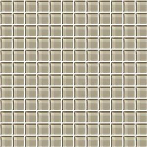 GlassTile ColorAppeal C10311MS1P OxfordTan1x1Mosaic
