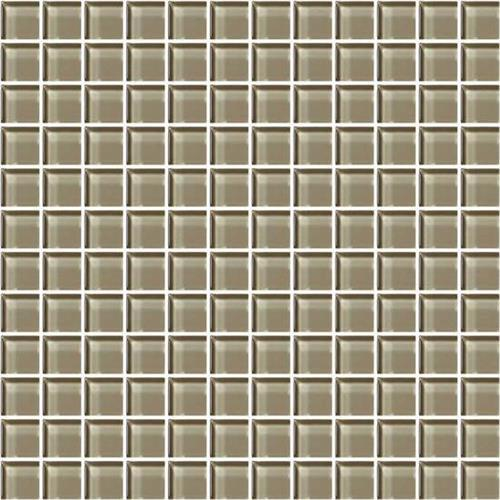 Plaza Taupe 1x1 Mosaic