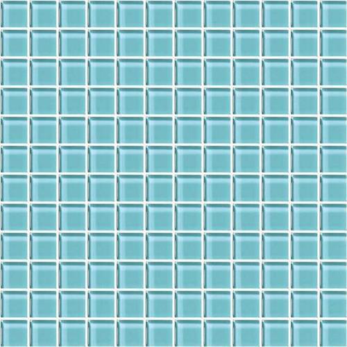 Fountain Blue 1x1 Mosaic