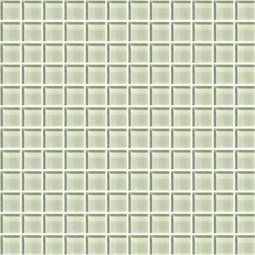 Color Appeal Celedon 1X1 Mosaic C112