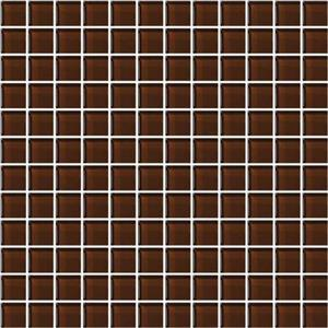 GlassTile ColorAppeal C11411MS1P CopperBrown1x1Mosaic