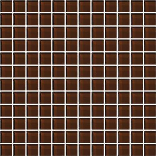 Color Appeal Copper Brown 1X1 Mosaic C114