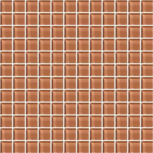 Color Appeal Brandied Melon 1X1 Mosaic C115