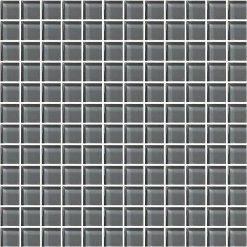 Charcoal Gray 1x1 Mosaic