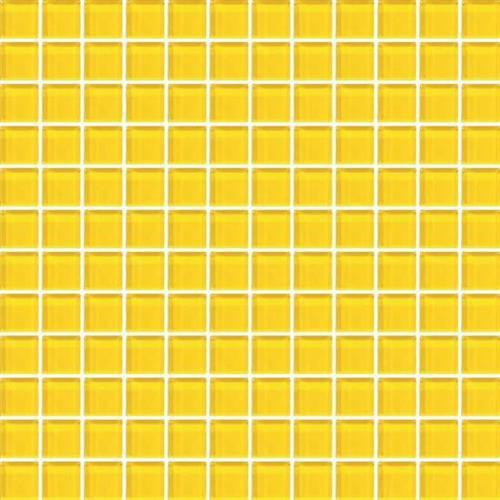 Color Appeal Vibrant Yellow 1X1 Mosaic C123