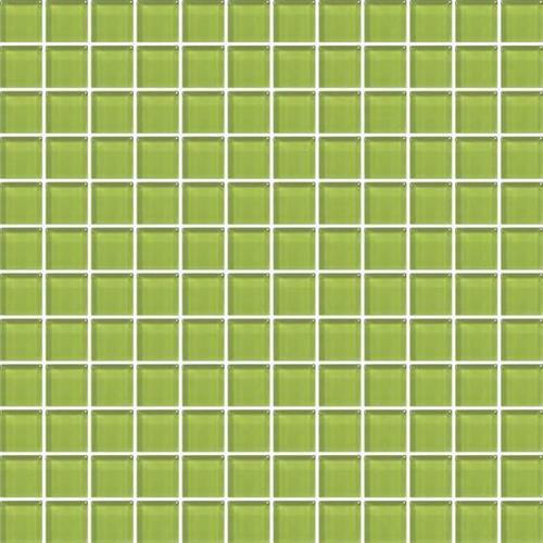 Lime Green 1x1 Mosaic