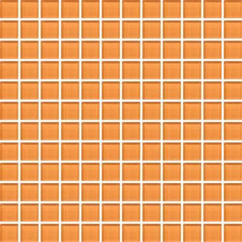 Color Appeal Orange Peel 1X1 Mosaic C126