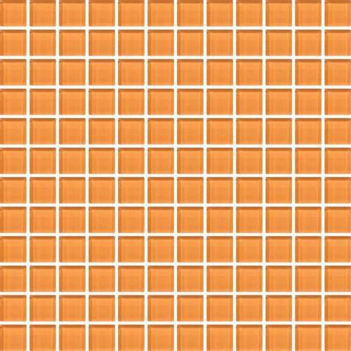Color Appeal Orange Peel 1X1 Mosaic C126