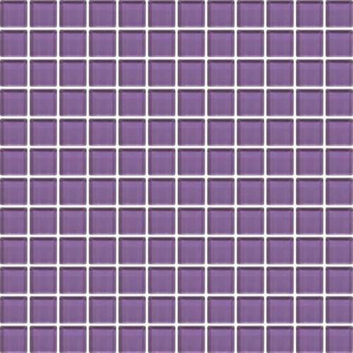 Color Appeal Plum 1X1 Mosaic C127