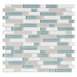 GlassTile ColorAppeal C13658RANDSWTCH PacificCoastBlend