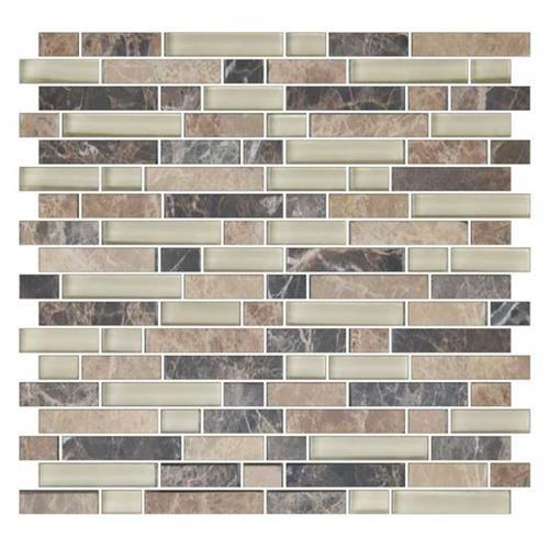 GlassTile Color Appeal™ Pebble Beach Blend C137 main image
