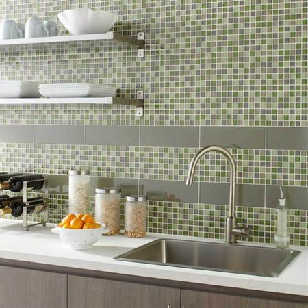 Color Appeal Charcoal Gray 1X1 Mosaic C121