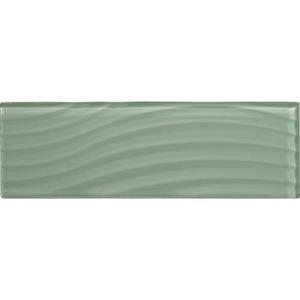 GlassTile Abstracts C107412W1P VintageMint