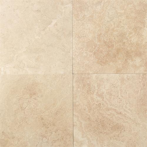 Travertine Collection Mediterranean Ivory 24 X 24 12 X 24 18 X 18 And 12 X 12 Honed And Filled 12 X 12 Tumbled T730
