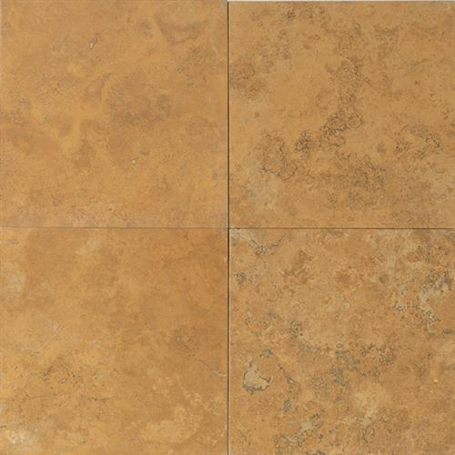 Travertine Collection Sienna Gold 18 X 18 And 12 X 12 Honed And Filled 12 X 12 Tumbled T731