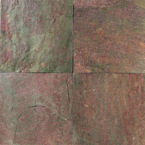 Slate And Sandstone Collection Copper 16 X 16 And 12 X 12 Natural Cleft Gauged S776